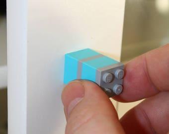 Set of Lego brick furniture handles (JE set 2Stück)/knob/LEGO/door handle/Handle/knob