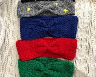 Crochet headbands, crochet turban, ear warmer, boho headband