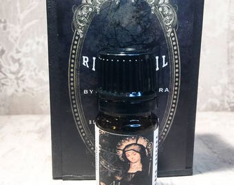 Maman Brigitte Ritual Oil / Vodou Ritual Oil / Voodoo Ritual Oil / Maman Brigitte Perfume Oil / Handmade Anointing Oil / Artisan Perfume Oil