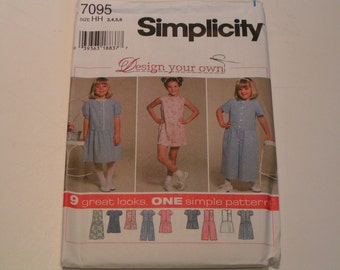 Simplicity Pattern 7095 Design your own Child Dress Romper