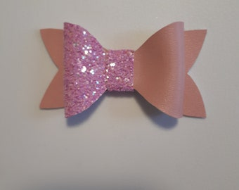 Pink Bubble Bow