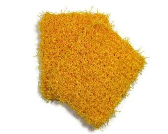 Tampons à récurer jaune lot de 2