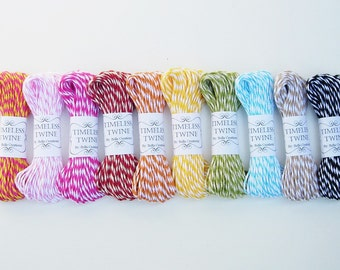 SALE Bakers Twine Party Pack by Timeless Twine - 100 yds