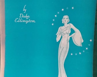 Sophisticated Lady by Duke Ellington, piano solo, vintage sheet music