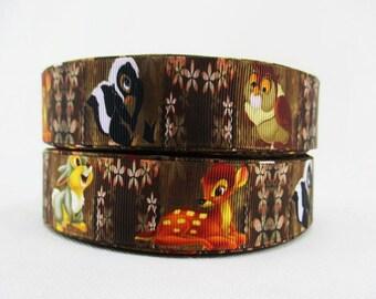 5 YDS Bambi Collage Ribbon