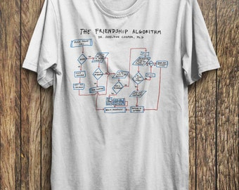 BIG BANG THEORY Friendship Algorithm Dr Sheldon Cooper T-shi
