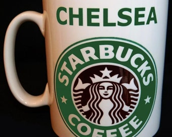 Personalised Starbucks Coffee Mug