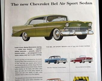 1950s Ladies Home Journal Chevrolet Bel Air car series