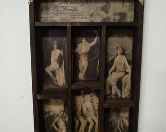 Ziegfeld's Midnight Frolic Cabinet of curiosities