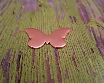 Copper Butterfly Stamping Blanks - Copper Blanks