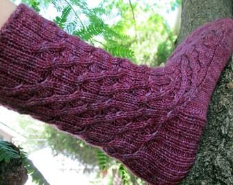Jarndyce Knitted Sock Pattern