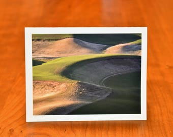 Blank Greeting Card, Washington Print Palouse Photo Card, Nature Photography Blank Note Card, Fine Art Card and All Occasion Card