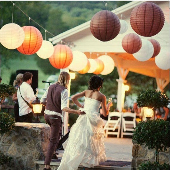 """Paper Lanterns Ottawa Wholesale Weddings By Pritchard: Items Similar To 50pcs 8"""" Ball Candy Color Chinese Light"""