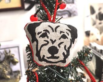 Border Terrier Christmas Decoration