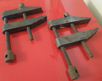 Starrett Machinist Parallel Clamps , 3 Inch Machinist Clamps , Starrett Tools