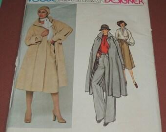 Sz 10 Geoffrey Beene Vogue American Designer 1278 UNCUT pattern