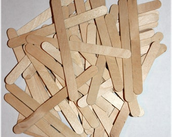 50 Popsicle Sticks For Crafting