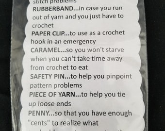 Crochet Survival Kit