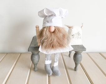 Kitchen Chef Gnome FREE SHIPPING