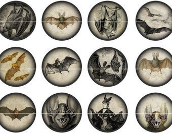 Bat Pins, Bat Magnets, Goth Party Favors