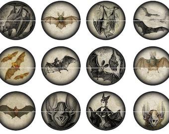 Bat Pins, Bat Magnets, Goth Party Favors