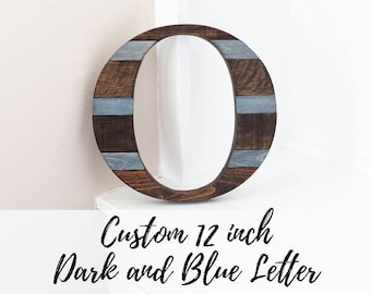 Rustic Home Decor, Wood Letter, New Home, Housewarming Gift, Modern Farmhouse, Wooden Letter, Farmhouse, Wall Letter, Reclaimed Wood Decor