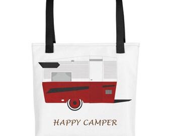 Happy Camper, Happy Camper For Her, Happy Camper Accessory, Travel Trailer, Woman Happy Camper, Glamper, Glamping