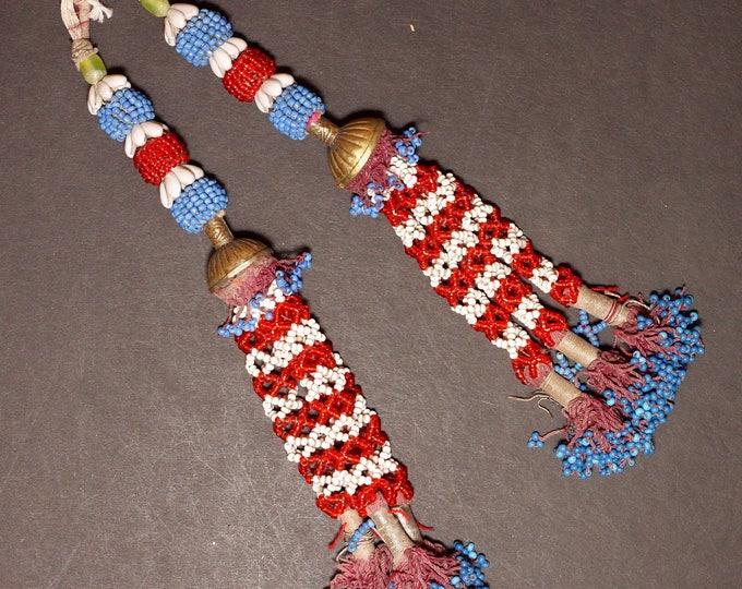 Turkman Tribal DANGLES Bellydance ATS Kuchi Turkoman 622r10