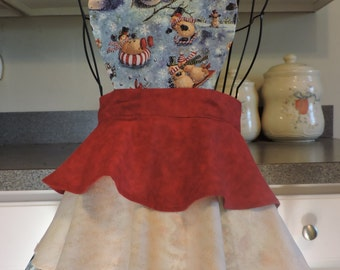 SALE Kid's Holiday 3 Tier Full Apron