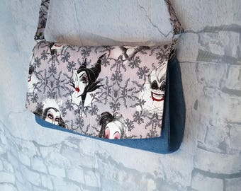 Villains Clutch Shoulder Bag - Convertible Clutch Bag - Stylish Shoulder Bag