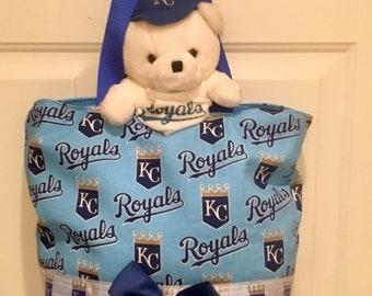Kansas City Royals Baseball Tote