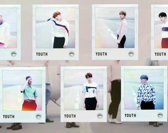 BTS Youth Polaroids (7pc)