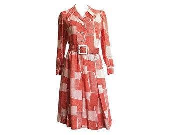 1970s Adele Simpson Dress
