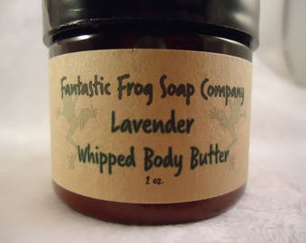 Lavender Whipped Body Butter 2oz