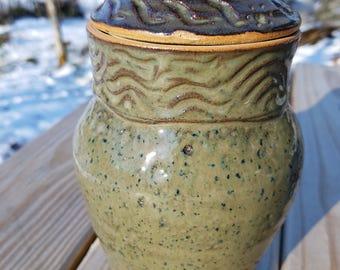 Hand Made Ceramic Jar #0