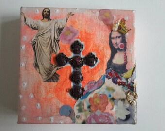 Mona Lisa & Jesus