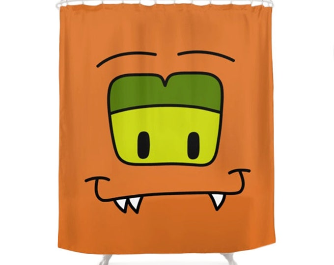 Boo Shower Curtain - Monsters