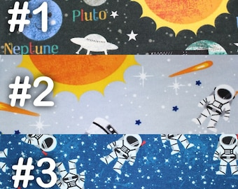 """Solar System Planets Extra Large Receiving Blanket - 36"""" x 42"""""""