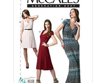 Misses' Dress In 3 Lengths McCall's Pattern M6433