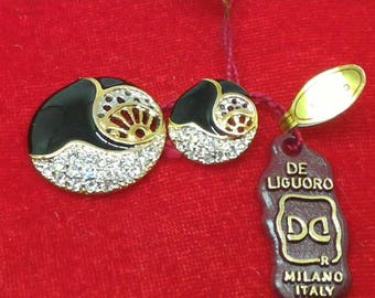 Jewel Buttons De Lame vintage
