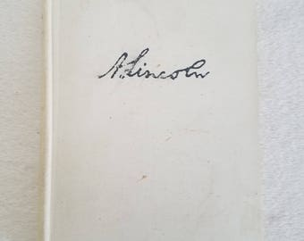 A. Lincoln Prarie Lawyer Book, signed by the author, by John J. Duff