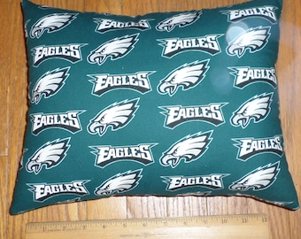 New NFL PHLADELPHIA EAGLES Small Decorative Cotton Pillow - Handmade