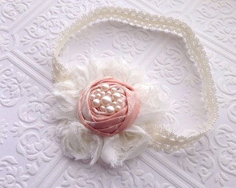 The In the Blush Headband or Hair Clip