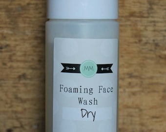 Foaming Face Wash for Dry Skin