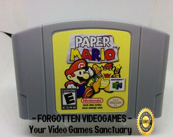 Paper Mario 64 - N64 Nintendo 64