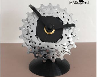 Rear Bicycle, Bike Cassette Clock, made from Campagnolo Sprockets.
