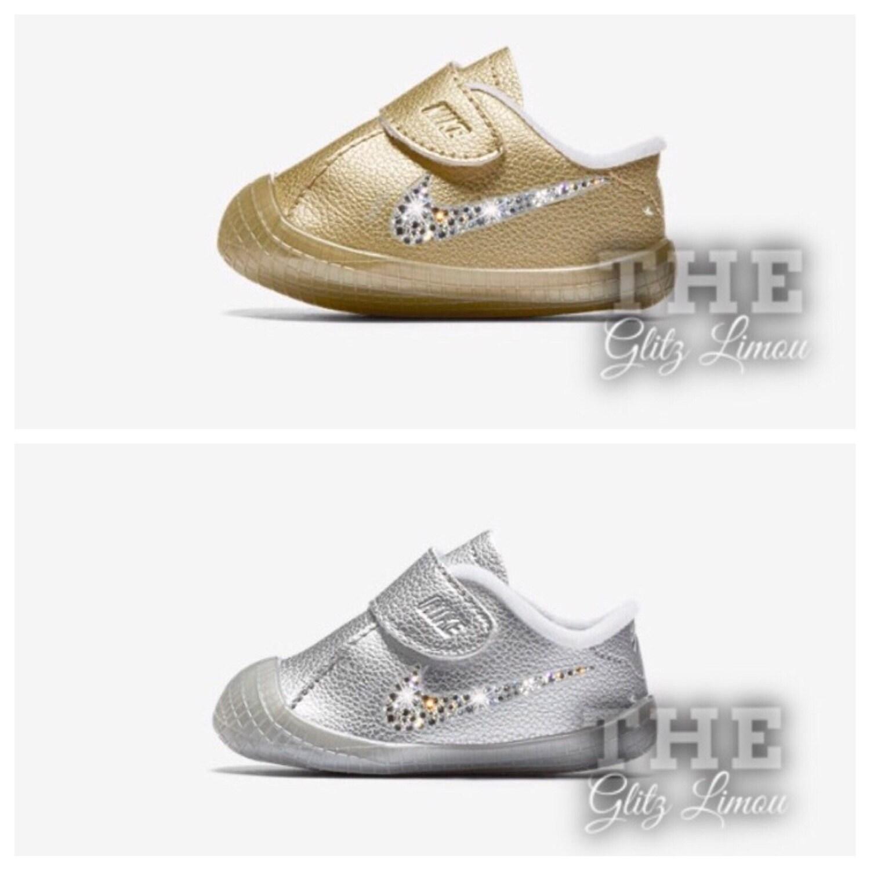 Sale Nike baby girl infant toddler swarovski crystal