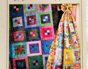 "Bits 'N Pieces Quilt Pattern ~ ""Grape Jam"" #1120"