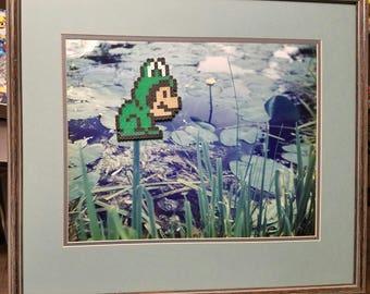 Frog Suit 8-bit Plumber