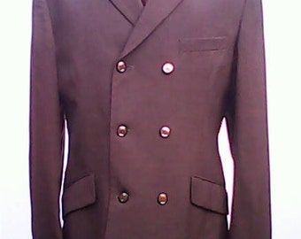 John Collier Six Button DB Jacket 1960s.